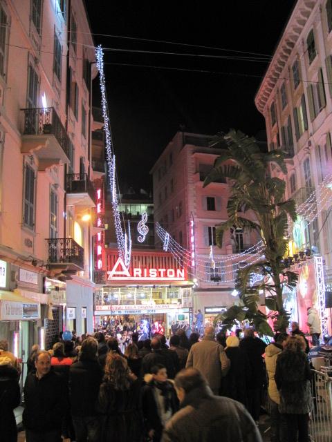 Il Teatro AristonIl Teatro Ariston