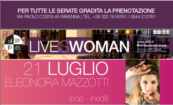 Live @ Piazzetta degli Ariani, Ravenna, 21/07/2017