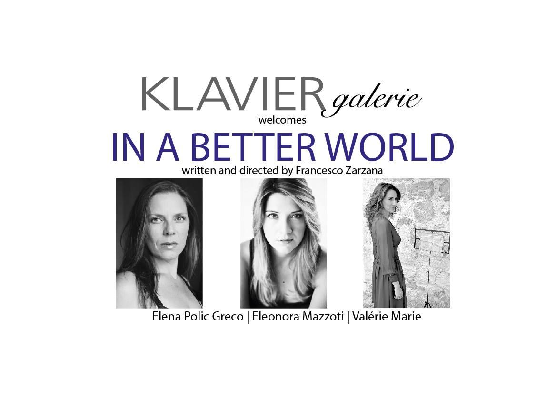 """""""In a better world"""", 23/09/2017 – Vienna"""