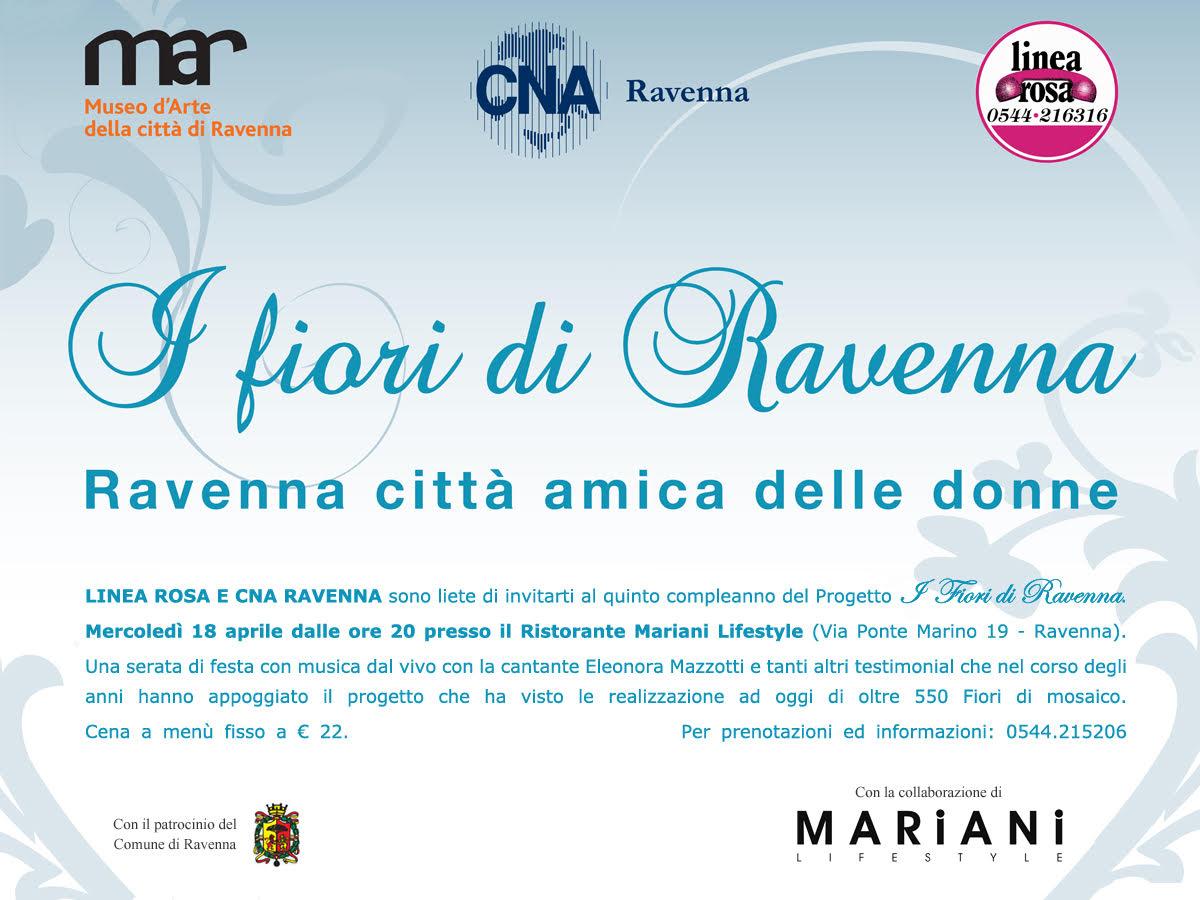"""""""I Fiori di Ravenna"""" – Linea Rosa"""