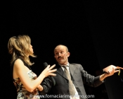 Con Giorgio Verduci - Padre Donovan. Eleonora veste Claudia B. Acconciatura Noes Parrucchieri