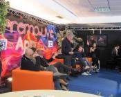 Retrofestival con Bruno Santori (Maestro e Direttore Musicale), Elio Cipri (discografico), Leopoldo Lombardi (presidente AFI), Antonio Vandoni (Radio Italia), Fabio Falcone (della band